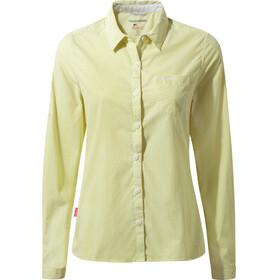 Craghoppers NosiLife Shona LS Shirt Women Limeade Combo
